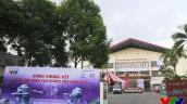 Toàn cảnh khu vực thi đấu vòng Chung kết Robocon Việt Nam 2015