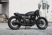 """Đồ đồng nát Honda CB750 biến hình cafe racer """"đầy nguy hiểm"""""""