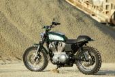 """Chiếc Street Tracker cá tính mang """"linh hồn"""" Harley Sportster 883"""