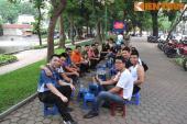 Hàng chục môtô Pkl của hội Naked Rider tụ hội tại Hà Nội