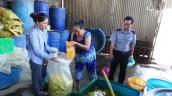 Triệt phá cơ sở sản xuất măng bẩn lớn nhất Bình Thuận