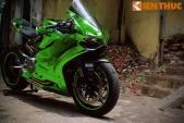 """Ducati 899 Panigale """"độ áo xanh"""" cực độc tại Sài Gòn"""