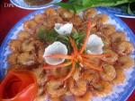Tép rang nước cốt dừa - món ăn dân dã mà sang