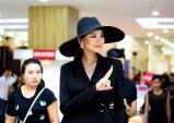 Thanh Hằng mặc cực lạ đi chấm thi VNNTM 2015
