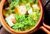 Canh thiên lý nấu tôm hấp dẫn cho bữa ăn nhà bạn