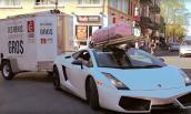Siêu xe tiền tỷ Lamborghini Gallardo chỉ để làm... xe tải