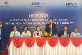 Khởi công dự án quần thể golf, resort, biệt thự 3.500 tỷ ở Bình Định