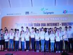 Vinh danh gần 2.000 học sinh đoạt giải thi giải toán qua mạng