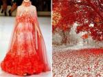 Váy áo lấy cảm hứng từ thiên nhiên đẹp tới ngỡ ngàng