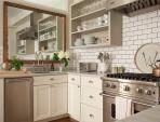 Treo gương tăng năng lượng cho phòng bếp chật, tối