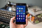 Smartphone M4 Aqua bản 8 GB của Sony chỉ dùng được 1,26 GB