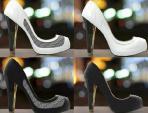 Giày tự đổi màu, họa tiết theo sở thích chủ nhân
