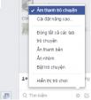 Hướng dẫn tắt âm thanh Facebook Chat và Facebook Messenger