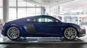 """Soi từng đường nét """"tinh tế"""" trên Audi R8 V10 Santorini Blue"""