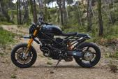 "Fan cuồng Ducati ""lột truồng"" Multistrada độ HyperRoad"