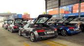 """Dàn siêu xe Audi R8 """"rầm rộ, đổ bộ"""" vào Việt Nam"""