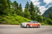 Audi A6 Ultra xuyên 14 nước với một lần nạp nhiên liệu