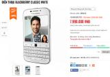 BlackBerry Classic bản màu trắng giảm giá mạnh
