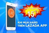 Giảm ngay 15% khi mua các mặt hàng công nghệ tại Lazada