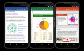 Microsoft trình làng bộ ứng dụng Office trên thiết bị Android