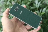 Cận cảnh Samsung S6 Edge xanh ngọc lục bảo chính hãng tại Việt Nam