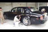 """Soi siêu xe sang Rolls-Royce Phantom """"Rồng Việt"""" tại Đà Nẵng"""
