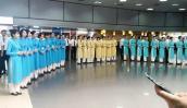 Tiếp viên Vietnam Airlines nô nức diện đồng phục mới