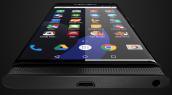 Điện thoại Android màn hình cong của BlackBerry lộ rõ hình hài