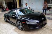 Ngắm mui trần Audi R8 V10 Spyder chính thức về VN