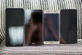 Bphone so màn hình với LG G4, Galaxy S6 Edge, iPhone 6 Plus