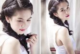 4 kiểu tóc tết cho cô dâu rạng rỡ ngày cưới