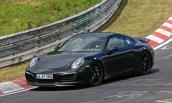 Porsche 911 2016 lăn bánh trên đường thử Nurburgring