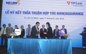 TPBank và Bảo Long hợp tác kinh doanh bảo hiểm qua ngân hàng