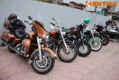 """Dàn môtô """"khủng"""" dự lễ khai trương Harley-Davidson Hà Nội"""