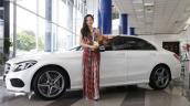 Hoa hậu Đông Nam Á Diệu Linh tậu Mercedes C250 AMG