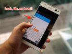 Smartphone mới viền siêu mỏng, camera trước 13 MP của Sony bị rò rỉ