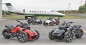Nhập khẩu xe môtô ba bánh thể thao, tại sao không?