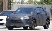 SUV Lexus phiên bản 7 chỗ lộ diện