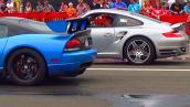 Xem siêu xe Dodge Viper bị Porsche 911 độ cho