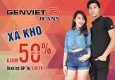 GenViet Jeans xả kho giá chỉ từ 100.000 đồng