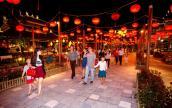 Con đường đèn lồng dài nhất Việt Nam