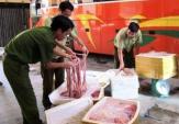 Xe khách chở 500kg nội tạng thối và động vật hoang dã