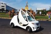 """""""Sốc"""" với ôtô điện Angkor EV 2013 giá chỉ 100 triệu đồng"""