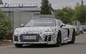 Audi R8 mui trần thế hệ mới lộ diện trên đường thử