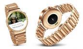 Huawei để lộ smartwatch mạ vàng