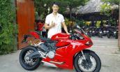 Johnny Trí Nguyễn thêm Ducati 899 Panigale vào bộ sưu tập