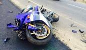 Mất kiểm soát, tay lái Yamaha R1 gặp tai nạn kinh hoàng