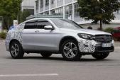 Mercedes GLC Coupe lộ diện cạnh tranh với BMW X4