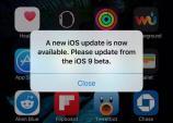 Nhiều người nhận cảnh báo nâng cấp nhầm lên iOS 9