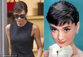 Victoria Beckham tiếp tục nhái phong cách Audrey Hepburn
